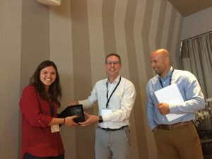 Sanne van de Bovenkamp wins The Antibody Society's first Award for Excellence!